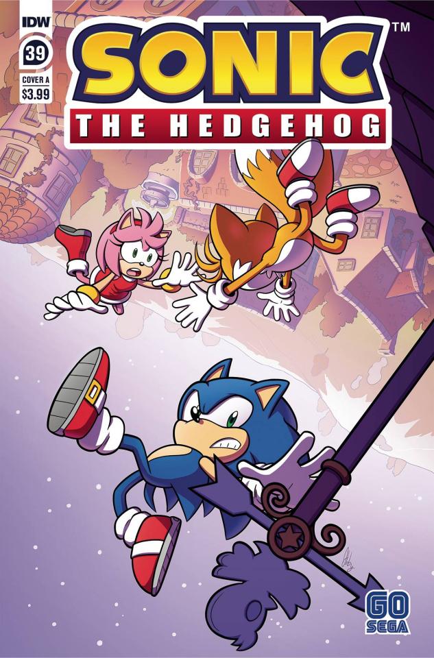 Sonic the Hedgehog #39 (Abby Bulmer Cover)