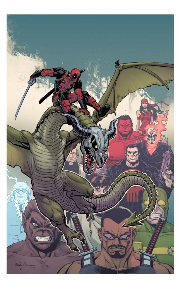 Deadpool: Dracula's Gauntlet #6