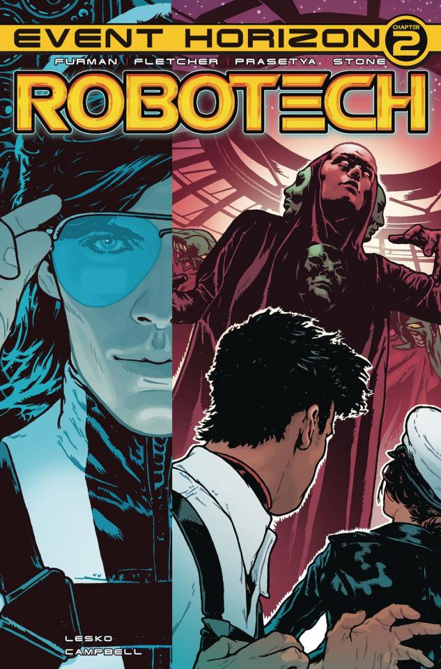 Robotech #22 (Spokes Cover)