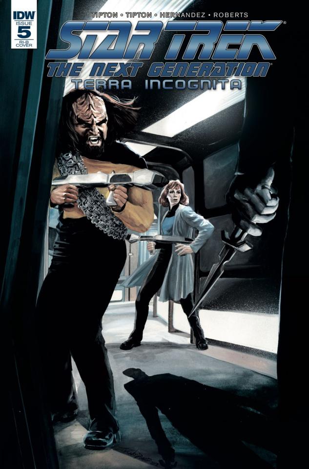 Star Trek: The Next Generation - Terra Incognita #5 (25 Copy Woodward Cover)