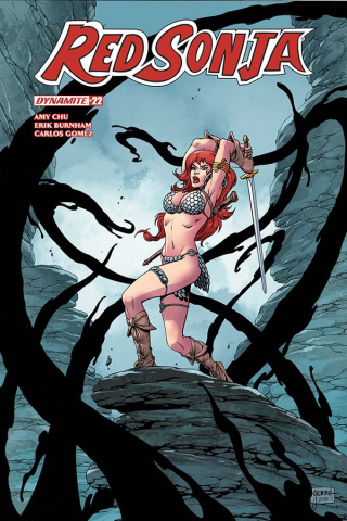 Red Sonja #22 (Grummet Cover)
