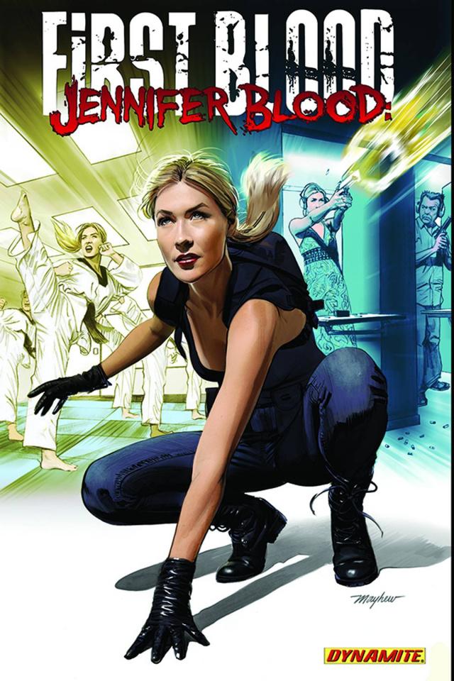 Jennifer Blood: First Blood