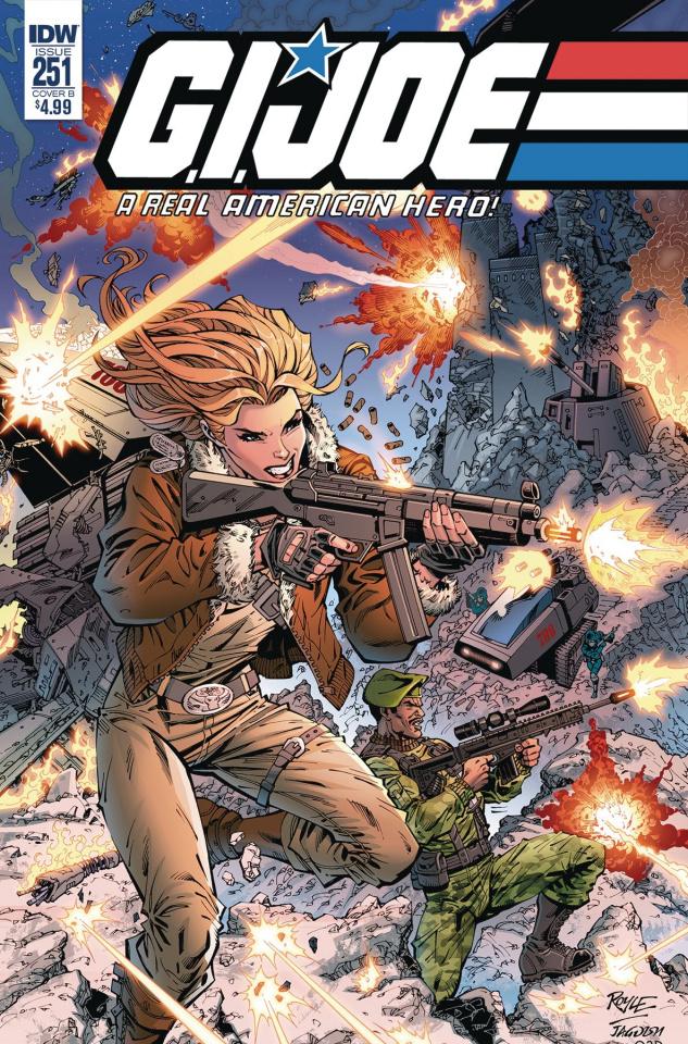 G.I. Joe: A Real American Hero #251 (Royle Cover)