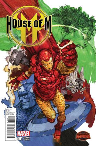 House of M #1 (Terada Manga Cover)