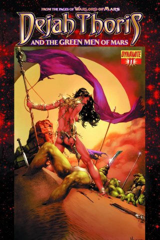 Dejah Thoris & The Green Men of Mars #11