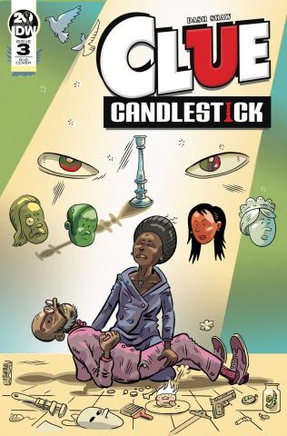 Clue: Candlestick #3 (20 Copy Huizenga Cover)