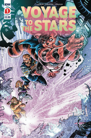 Voyage to the Stars #1 (2nd Printing)