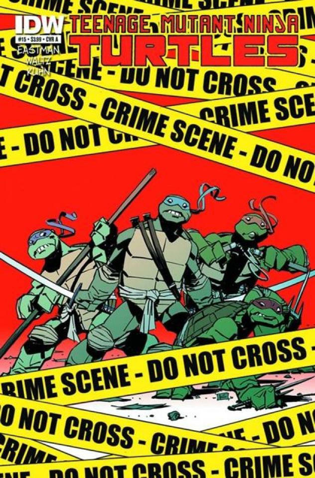 Teenage Mutant Ninja Turtles #15