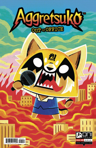 Aggretsuko: Out of Office #1 (Kolb Cover)