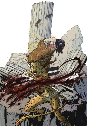 Wonder Woman Villains: Cheetah