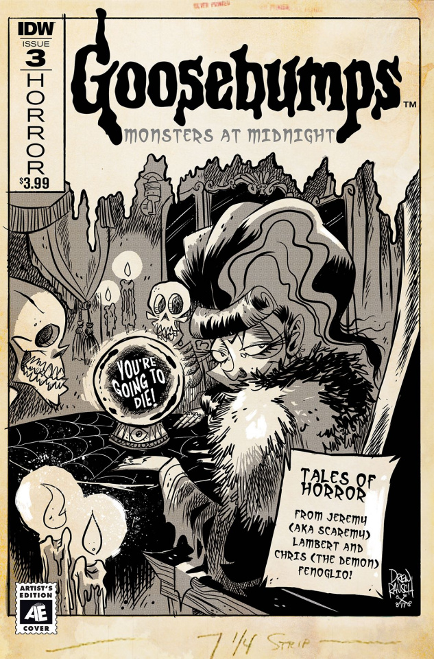 Goosebumps: Monsters At Midnight #3 (Drew Rausch Cover)
