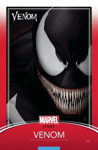 Venom #155 (Christopher Trading Card Cover)