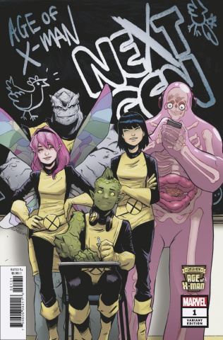 Age of X-Man: NextGen #1 (Garbett Cover)