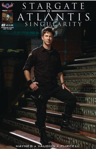 Stargate Atlantis: Singularity #3 (Premium Flashback Photo Cover)