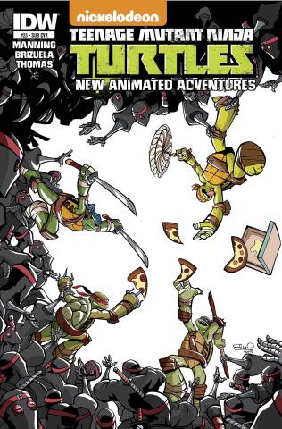 Teenage Mutant Ninja Turtles: New Animated Adventures #23 (Subscription Cover)