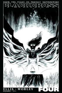 Blackcross #4 (25 Copy Shalvey B&W Cover)