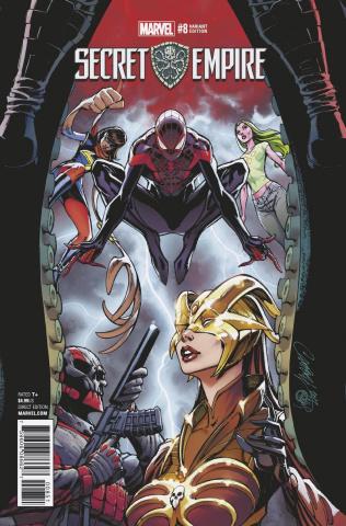 Secret Empire #8 (J.S. Campbell Cover)