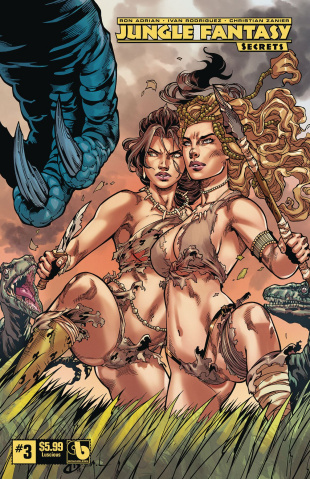 Jungle Fantasy: Secrets #3 (Luscious Cover)