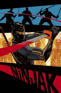 Ninjak #3 (Johnson Cover)
