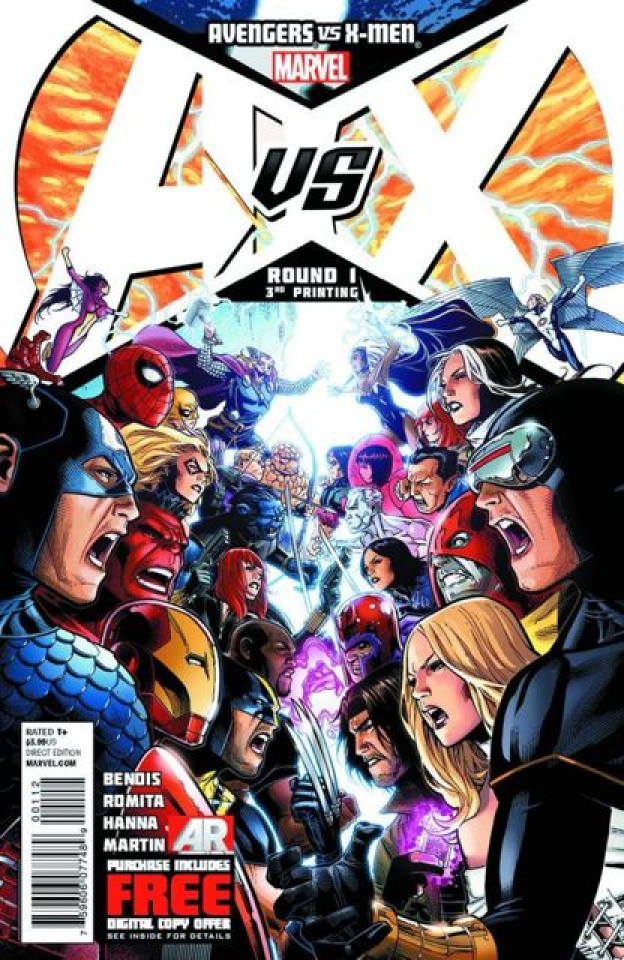 Avengers vs. X-Men #1 (3rd Printing)