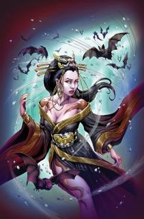 Grimm Fairy Tales: Van Helsing vs. The Werewolf #3 (Otero Cover)