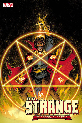 Dr. Strange #6 (Johnson Dark Marvel Cover)