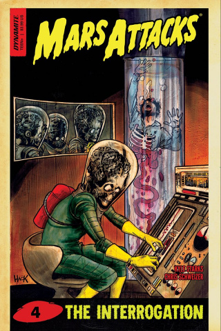 Mars Attacks #4 (Hack Cover)