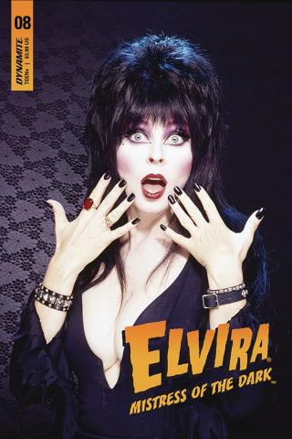 Elvira: Mistress of the Dark #8 (Photo Cover)