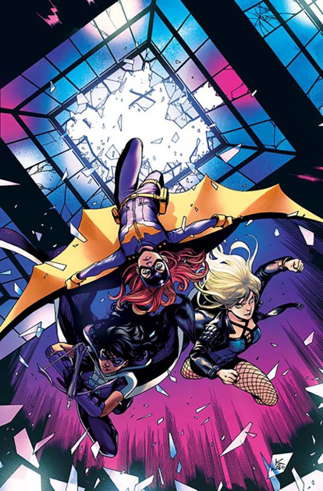 Batgirl and The Birds of Prey #5 (Variant Cover)