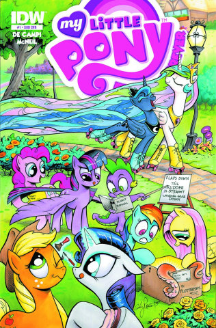 My Little Pony: Friends Forever #1 (Subscription Cover)