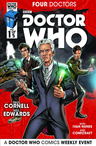 Doctor Who: Four Doctors #1 (Edwards Cover)
