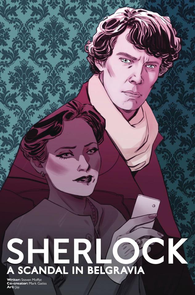 Sherlock: A Scandal in Belgravia #2 (Sauvage Cover)