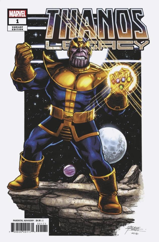 Thanos Legacy #1 (Perez Cover)