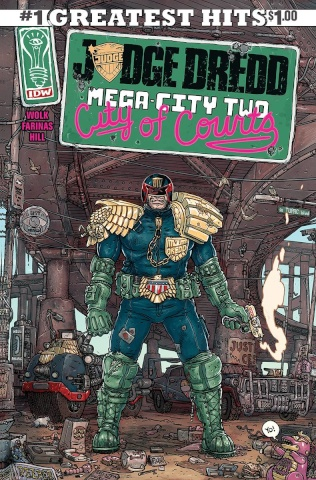 Judge Dredd: Mega-City Two #1 (IDW Greatest Hits)