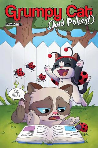 Grumpy Cat (and Pokey!) #1 (Garbowska Cover)