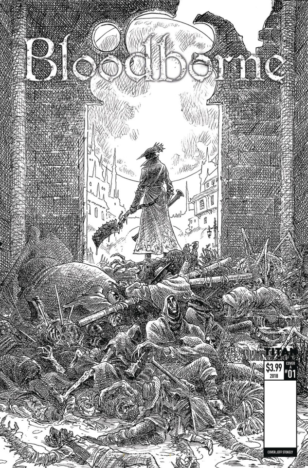 Bloodborne #1 (2nd Printing)