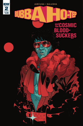 Bubba Ho-Tep and the Cosmic Blood-Suckers #2 (Rivas Cover)