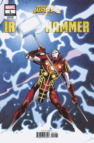 Secret Warps: Iron Hammer Annual #1 (Pacheco Connecting Cover)