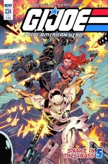 G.I. Joe: A Real American Hero #234 (Subscription Cover)