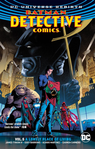 Detective Comics Vol. 5: A Lonely Place of Living (Rebirth)