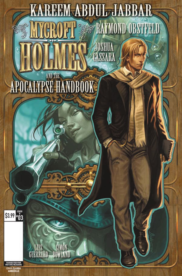 Mycroft Holmes #3 (Ianniciello Cover)