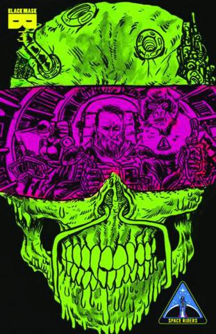 Space Riders #3 (2nd Printing)