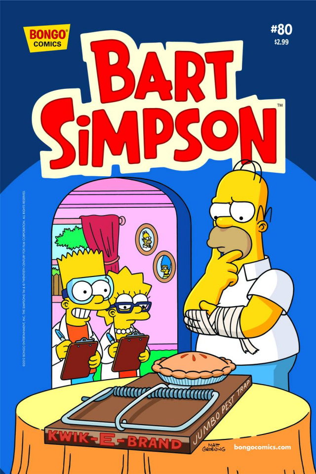 Bart Simpson Comics #80