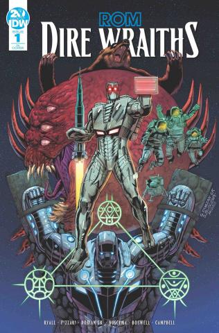 ROM: Dire Wraiths #1 (10 Copy Dorian Buscema Cover)
