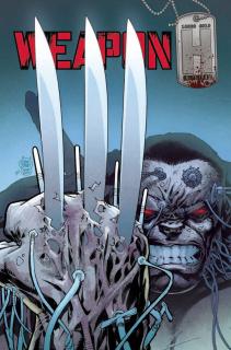 Weapon H #1 (Kubert Wolverine Homage Cover)