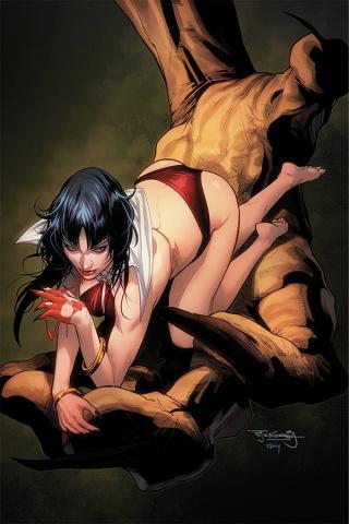 Vengeance of Vampirella #13 (10 Copy Segovia Virgin Cover)