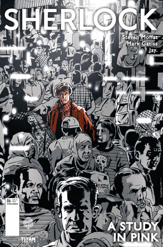 Sherlock: A Study in Pink #6 (Fuso Cover)