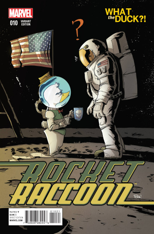 Rocket Raccoon #10 (Guillory WTD Cover)