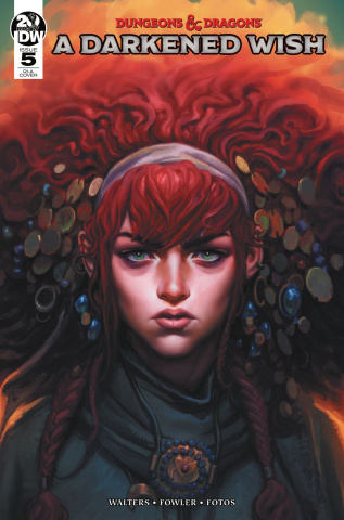 Dungeons & Dragons: A Darkened Wish #5 (10 Copy Cover)