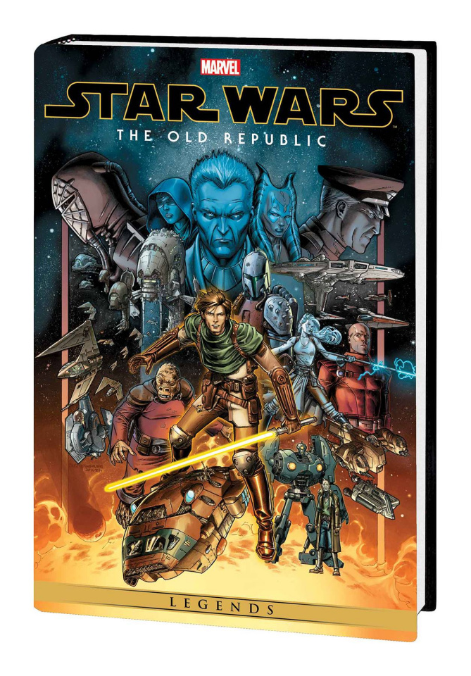 Star Wars Legends: The Old Republic Vol. 1 (Omnibus Weaver Cover)